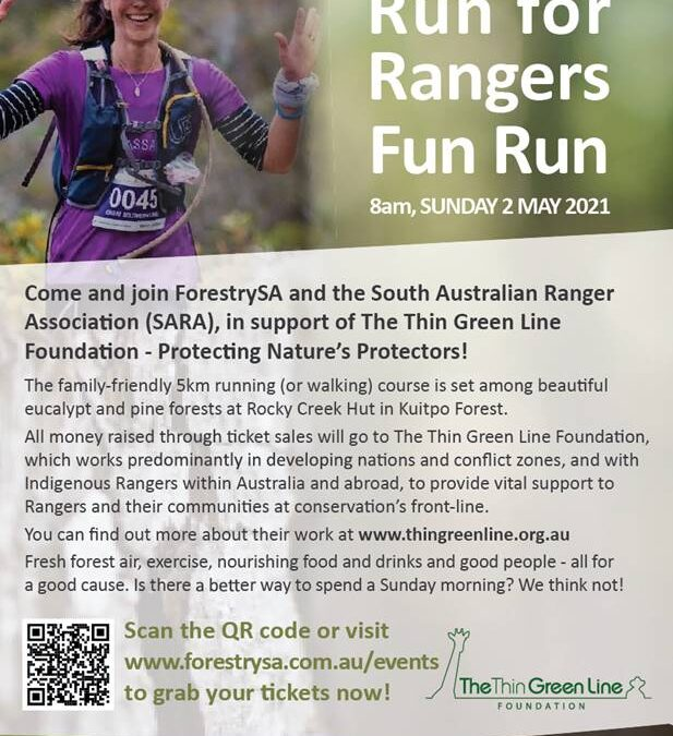 Join the Ranger Run to support The Thin Green Line
