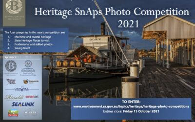 SA state heritage celebrated in Heritage SnAps Photo Competition 2021