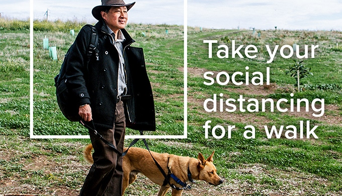 Take your Social Distancing for a walk in a National Park!